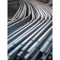 销售众信常用规格大棚镀锌钢管,热镀锌圆管、椭圆管