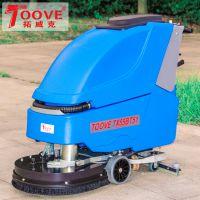 拓威克手推式全自动洗地机商场超市环氧地坪用洗地机