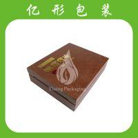 专业生产高档燕窝包装盒 野山参包装皮盒 海参皮盒 皮质礼品盒