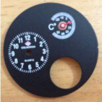 供应指针机械式双金属温度计手表机芯表面配件