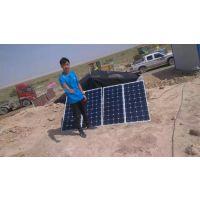 甘肃岷县程浩400W太阳能板光伏发电组设备