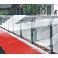 供应热镀锌 静电喷涂 玻璃护栏