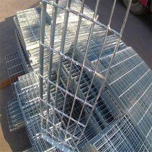 旺来不锈钢钢格栅价格 钢格栅沟盖板 镀锌钢格板