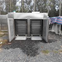 二手双门四车热风循环烘箱,二手厢式干燥机