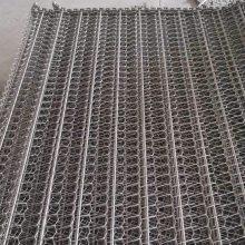 宁津乾德厂价链条式网带 清洗机网带不锈钢网带 耐腐蚀性强