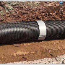 大口径DN1200塑钢缠绕管 HDPE钢塑复合管 克拉管B管 泰沃管