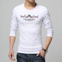 批发15春秋款男士韩版T恤衫 圆领长袖T恤打底衫 J50XV000501700