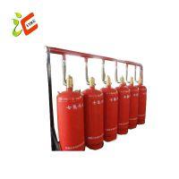 管网式七氟丙烷灭火装置 七氟丙烷气体灭火系统 气体自动灭火系统