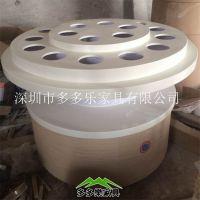 中式圆形的盛放调料品的桌子 案台哪里可以做