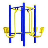 室外健身器材 四位训练健身椅