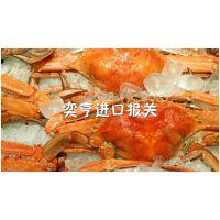上海进口冷冻食品/进口澳洲龙虾报关公司