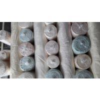 供应16花型全涤库存高密装饰布提花墙布