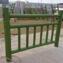 供应四川巴中广元驰升仿竹构件 仿竹标识牌 仿木栏杆 仿竹栏杆护栏