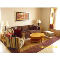绿色客房—酒店客房装饰画设计51A设计机构玄关工艺画定制