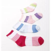 厂价直销新款儿童袜精梳棉提花棉袜正品蓝比奇儿童棉袜批发棉袜子