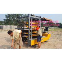 神力牌水泥砖叉车/免烧砖电动叉车/水泥砖机配套拉砖车