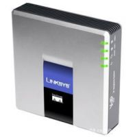 LINKSYS PAP2T-NA双口语音网关SIP/VOIP网络电话 保修1年