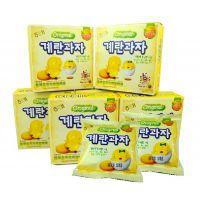 韩国进口零食品 宝宝儿童***爱蛋园饼干 海太小鸡蛋饼干45g*20盒