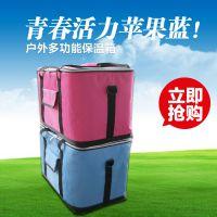 低价批发便携式保温箱  披萨保温箱  手袋食品运输工具包