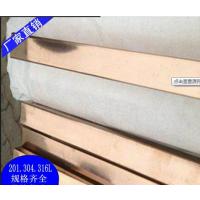 22*0.8彩色不锈钢装饰管 201电镀钛金装饰管 佛山实力厂家