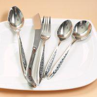 供应高档304不锈钢餐具/不锈钢刀叉来样订做印logo批发