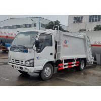 福田小型压缩垃圾车价格配置参数图片