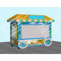 动物卡通游乐园售货亭,手绘亭身品牌创意贩卖亭定制