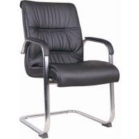 天津办公椅子现代简约,板式员工椅子无扶手,鸿信公司