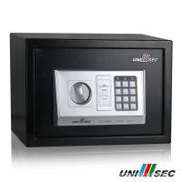 UNISEC保险柜 酒店客房保险箱 家用 电子密码保管箱