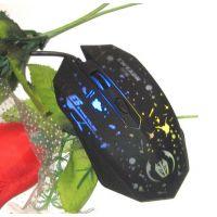 前行者鼠标E6有线鼠标包邮特价发光鼠标电脑游戏鼠标全新光电USB