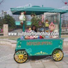 武汉广场售货亭,重庆游乐园售卖车,长沙景区贩卖车