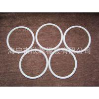 供应防滑减震效果显著的硅橡胶白色垫圈 用于机器配件橡胶圈