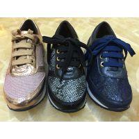 儿童运动鞋批发 韩版真皮网面防滑男女大小童休闲运动童鞋订单童