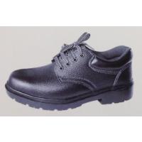 厂家直销悍盾牌劳保鞋二层牛皮 冷粘橡胶底 耐磨防砸防刺真皮透气工作鞋防护鞋