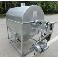 无烟尘环保型翻炒机 卧式滚筒式炒货机 干货店专用鼎达