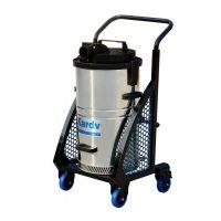 供应纺织厂吸棉絮用吸尘器 凯德威DL-1245X下进气工业吸尘器