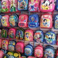跑江湖夏季热卖儿童3D书包 卡通背包 宝宝书包批发厂家直销
