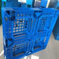 厂家直供一次性出口JZ-1111字网格塑料托盘