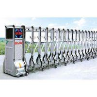 供应上海萨都奇厂家生产不锈钢伸缩门,表面光滑,防腐蚀