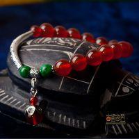 特级4A天然玛瑙水晶手链 原创饰品首饰工厂直销年惠大放价14009