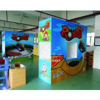 深圳生产商业活动异形卡通人型 KT板制作促销 广告展板定做