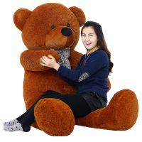 1.6米毛绒玩具深棕色泰迪熊布娃娃熊猫公仔狗熊1.2米大毛毛熊玩偶
