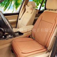 汽车凉垫, 通过抽气式实现座垫表面气体循环降温,而且降温是通过自然风或者车内的空调风进行降温,降温效