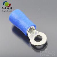 广东厂家供应PVC绝缘套圆环端子 冷压接线端子报价实惠