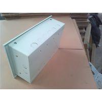 思敏预售200*200*80明装仪表端子箱金属消防接线箱防尘防水按钮盒