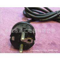 供应三芯D03-F橡胶PVC欧规电源线