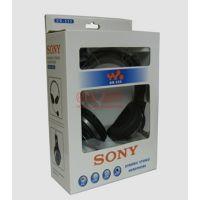 SONY/索尼 DR-555 头戴式耳麦 重低音电脑耳机 带麦克风 音乐耳机