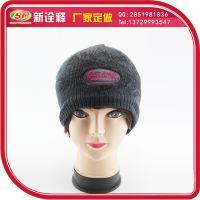 新诠释帽子工厂订 毛线帽女冬季街头保暖户外加厚护耳针织套头帽