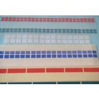 厂家供应易撕贴胶带 蓝色格拉辛离型纸批发 电阻触摸屏保护膜高粘易撕贴 质量保证