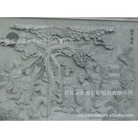 浮雕壁画供应商 九龙壁批发价格 生产厂家 石材浮雕雕刻